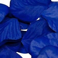 Royal Blue Rose Petals Fabric Confetti (Bulk Bag of 1000 petals)