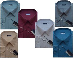 Mens King Size Long Sleeve Summer Shirt 3XL - 6XL By Tom Hagan