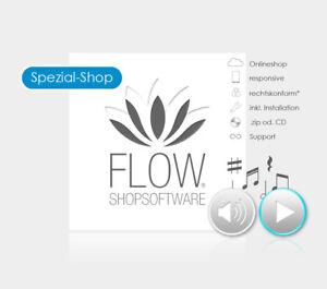 Musikshop mit mp3-Musikplayer - responsive, kinderleicht & flexibles Design