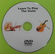 Learn How To Play The Violin DVD Instruction Tutorial
