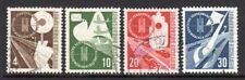 1953 Germany SC 698-701 Used - Exhibition of Transport & Communications*