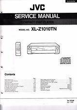 Instrucciones Manual de servicio para JVC xl-z1010 TN