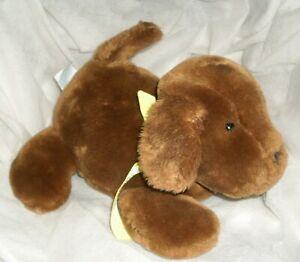 "10"" EDEN GENEVIEVE MADELINE BROWN PUPPY DOG STUFFED ANIMAL PLUSH TOY 1998 TAN"