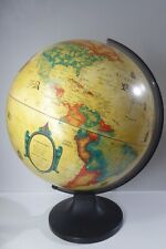 VINTAGE SCAN GLOBE  WORLD GLOBE MADE IN DENMARK ANTIQUE STYLE
