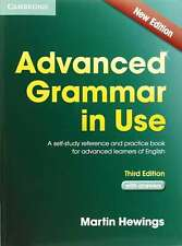 More details for advanced grammar in use book with answers: a self-study reference and practice b