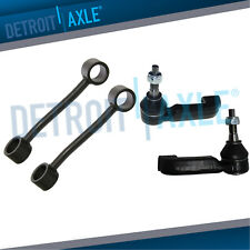 Front Sway Bar End Links + Outer Tierods for 2008 2009 2010 2011 Nitro Liberty