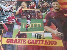 CALCIO AS ROMA ** Francesco Totti ** il Libro + poster (tutto Nuovo e Perfetto)