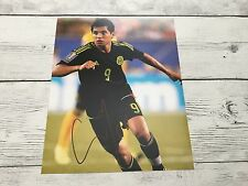 Jesus Tecatito Corona Signed Team Mexico 8x10 Photo Autographed a