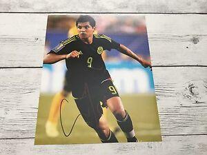 Jesus Tecatito Corona Signed Team Mexico 8x10 Photo Autographed a