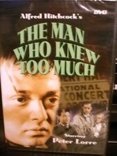 The Man Who Knew Too Much (DVD, 2004) NEW