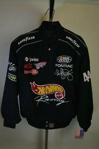 Authentic Kyle Petty Hot Wheels Uniform Cotton Jacket JH Design Size Large