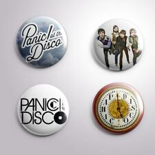 "4 PANIC AT THE DISCO - Pinbacks Badges Buttons 1"" 25mm"
