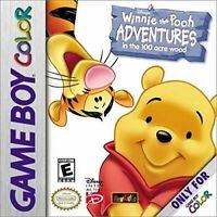 Winnie the Pooh: Adventures in the 100 Acre Woods - Nintendo Game Boy Color