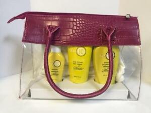 ITS IT'S A 10 BLONDE SHAMPOO, LEAVE IN CONDITIONER & 5 MINUTE REPAIR BAG
