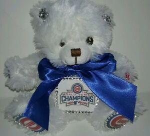 Chicago Cubs World Series Custom Teddy Bear #2
