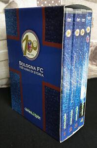 COFANETTO EDIZIONE LIMITATA 4 DVD BOLOGNA FC 100 ANNI DI STORIA 1909-2009 CALCIO