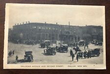 Lithograph - Gallup, NM - Busy Street Scene - Business Section - 1920s