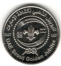 United Arab Emirates 2007  UAE Scout Golden Jubliee UNC Dirham Commemorative
