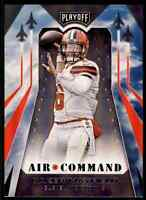 2019 PLAYOFF AIR COMMAND BAKER MAYFIELD CLEVELAND BROWNS #15 INSERT