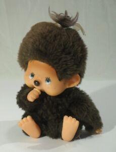 vintage SEKIGUCHI MONCHICHI von 1974 Puppe Monchhichi Kult Stofftier Plüschtier