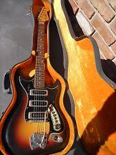 Vintage Hagstrom 1965-66 Hagstrom III 3 Guitar Sunburst