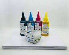 Sublimation Ink refillable Cartridge Kits for Epson WF7110 WF7610 NON OEM