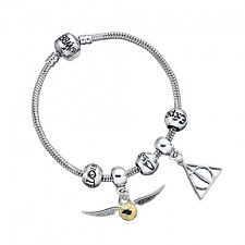 Harry Potter Silver Plated Charm Bracelet. From The Official Argos Shop on EBAY