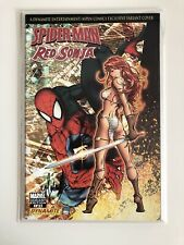 Michael Turner SIGNED Spider-Man Red Sonja #1 Exclusive Variant w/ COA