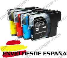 4 CARTUCHOS COMPATIBLES NonOem BROTHER LC980 LC1100 MFC-5895CW MFC5895CW