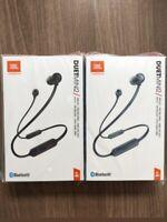 New Sealed JBL Duet Mini 2 Bluetooth Wireless in Ear Headphones Blue Black