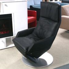 Liegesessel Relaxsessel Rolf Benz L-SE-AT-577 Funktionssessel Echtleder schwarz