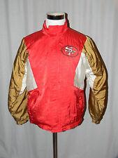 Vintage San Francisco 49ers NFL Apex-One Full Zip Jacket Sz XL Red, White, Gold