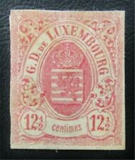 nystamps Luxembourg Stamp # 8 Mint Og H $275 J15y1200