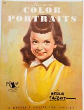 HOW TO USE COLOR IN PORTRAITS WALTER FOSTER MID CENTURY MODERN