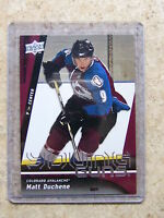 09-10 UD Young Guns Rookie RC MATT DUCHENE YG #203