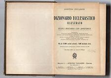 dizionario ecclesiastico illustrato - agostino ceccaroni