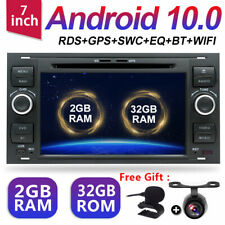 32G Android 10 DVD GPS Autoradio für Ford Transit Kuga Fiesta Focus C/S-Max Navi