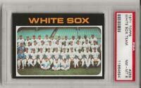 SET BREAK -1971 TOPPS # 289 CHICAGO WHITE SOX TEAM, PSA 8 NM-MT,  L@@K