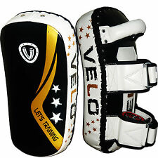 VELO STRIKE Kick Boxing Pad Focus Thai Punch MMA Scudo Muay Pads curvi BAG BLK