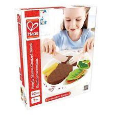 BAMBINO giocattolo in legno CORO HOME COTTO farina Set LEGNO HAPE NUOVO 22pce 3 +