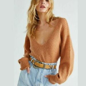 Free People Elias Jumper 100% Soft Cashmere Size M RRP $140 Oversized? Free PP