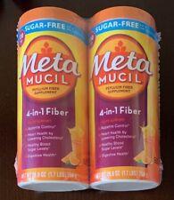 Metamucil MultiHealth 100% Natural Psyllium Fiber, Sugar Free, 260 Doses