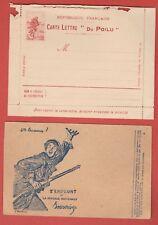 WW1 1er GUERRE  LETTRE ENVELOPPE FRANCHISE MILITAIRE NON CIRCULE