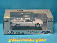 1:43 Classics - 2002 Ford XR8 Ute - Winter White