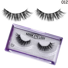 SKONHED®Luxurious 4 Pcs Lashes 3D Mink Hair Magnetic False Eyelashes Thick
