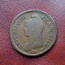 France L'an5R copper decime