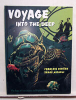 Voyages Into the Deep-Jules Verne & Capt Nemo Hardcover Comic Book (L6804)