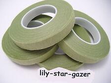NILE Green Oasis Stemtex floristry tape - buttonholes corsage bridal Student Art