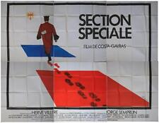 SECTION SPECIALE Affiche Cinéma GEANTE / WIDE Poster COSTA GAVRAS LONSDALE