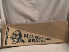 1950'S BAZOOKA BUBBLE GUM MILWAUKEE BRAVES  PENNANT